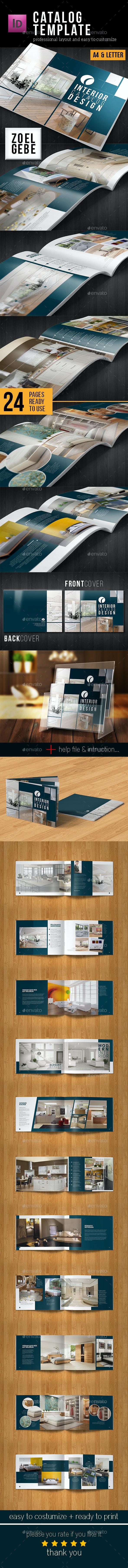 Multipurpose Catalog Template - Brochures Print Templates