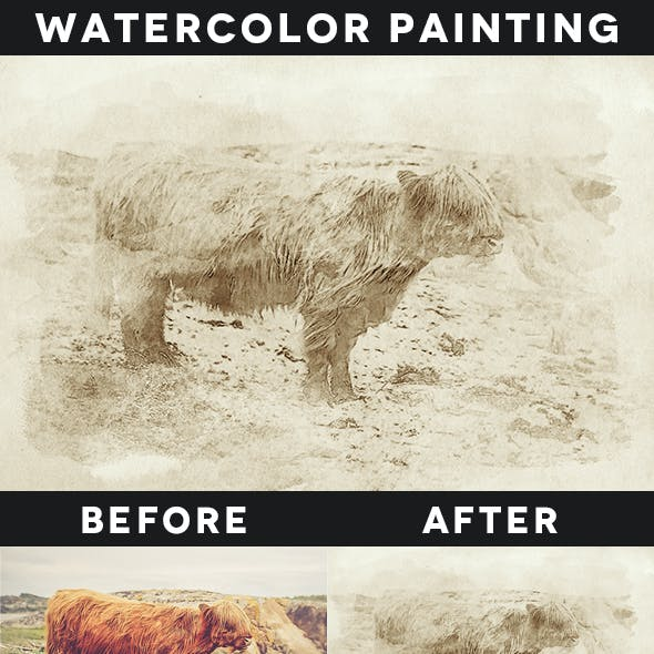 Creative Watercolor Painting Vol. 01