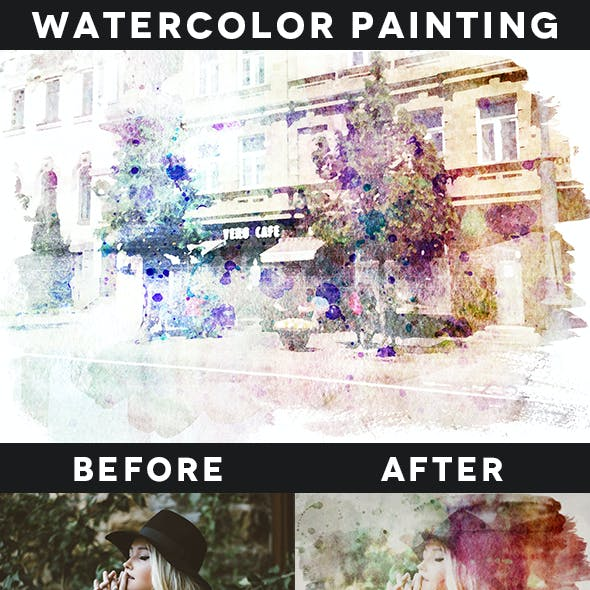 Creative Watercolor Painting Vol. 02