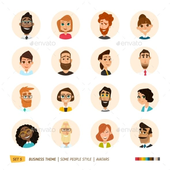 Avatar Funny Graphics, Designs & Templates from GraphicRiver