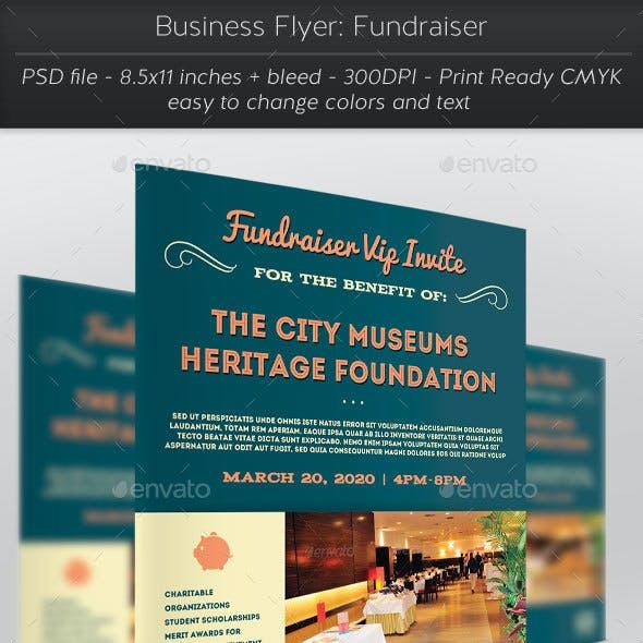 Business Flyer: Fundraiser
