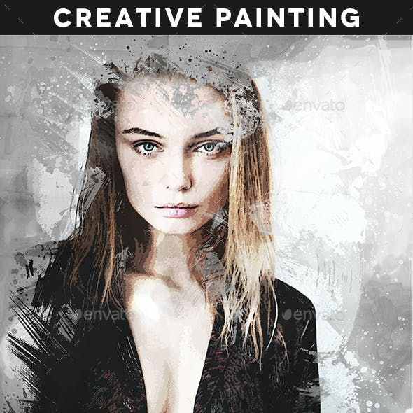 Creative Painting Template Vol. 2