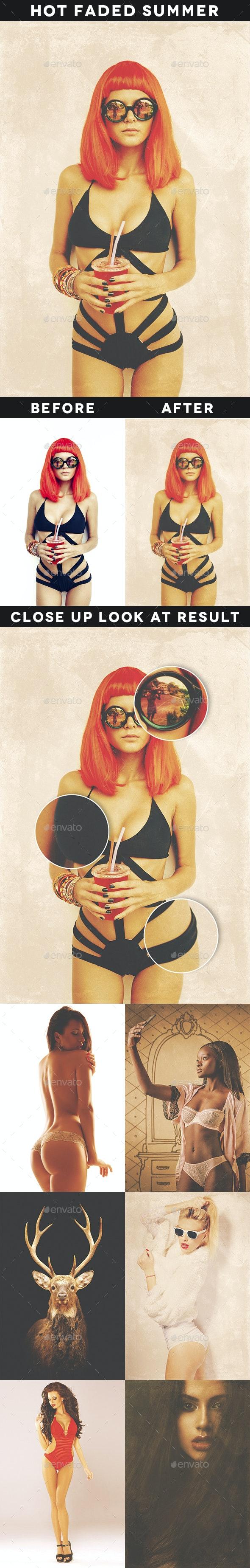Hot Faded Summer Vol. 1  - Artistic Photo Templates