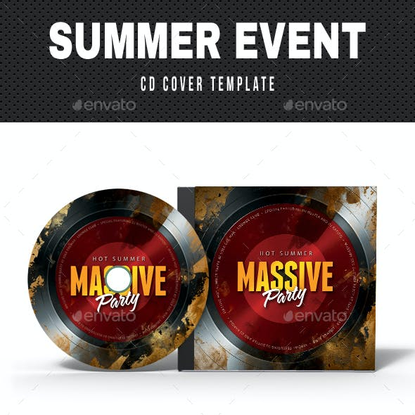 Summer Event Music CD Cover