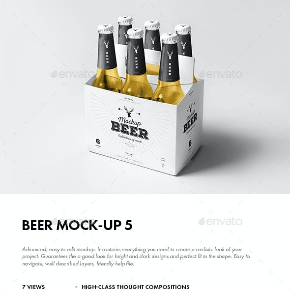 Beer Mock-up 5