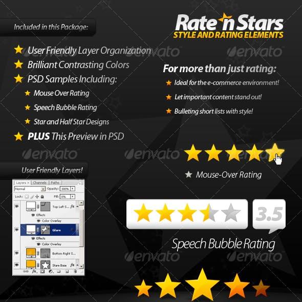 Rate 'n Stars