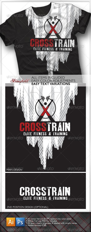 Cross Training T-Shirt - Sports & Teams T-Shirts