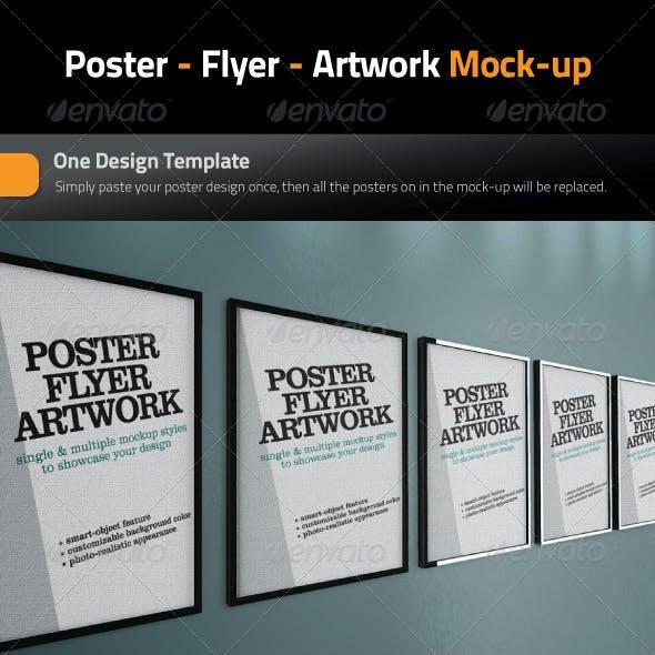 Poster - Flyer - Artwork Mock-Up