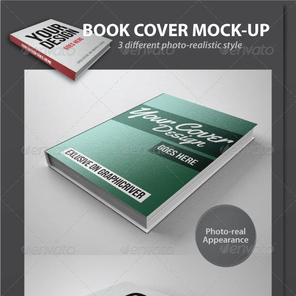 Book Cover Mock-Up Pack