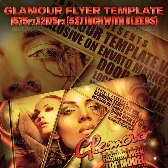 Glamour Flyer Template