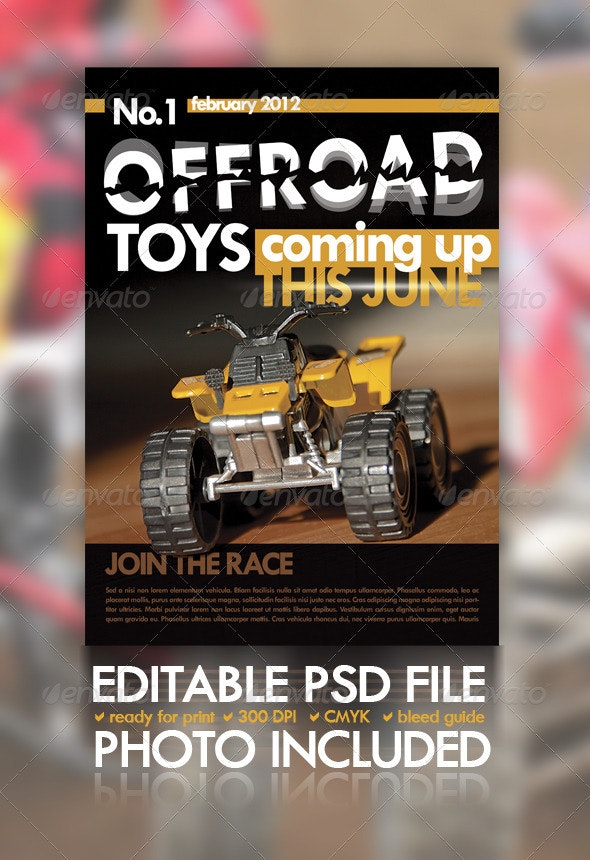 Off Road Flyer - Clubs & Parties Events