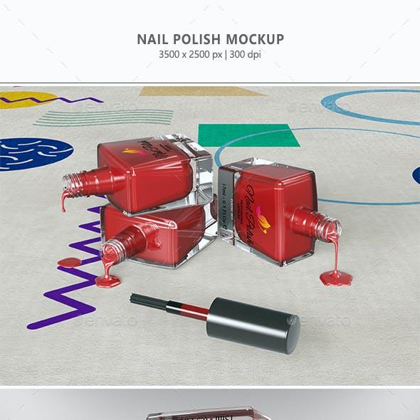 Nail Polish Mockup