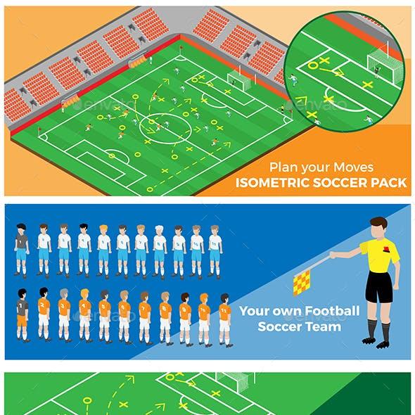 Isometric Soccer Pack