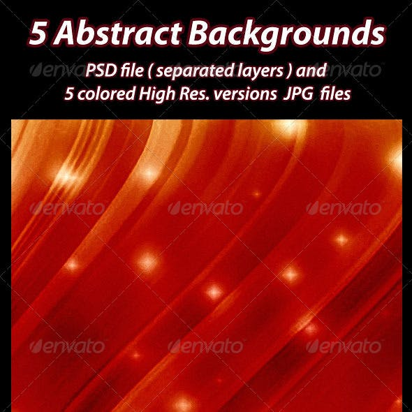 5 Abstract Backgrounds.