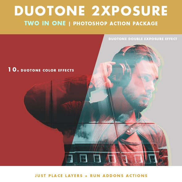 Duotone 2xposure Actions Package