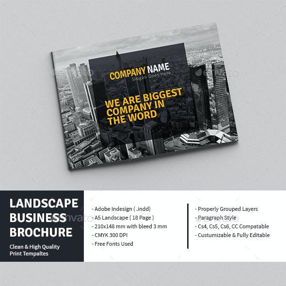 Landscape Business Brochure