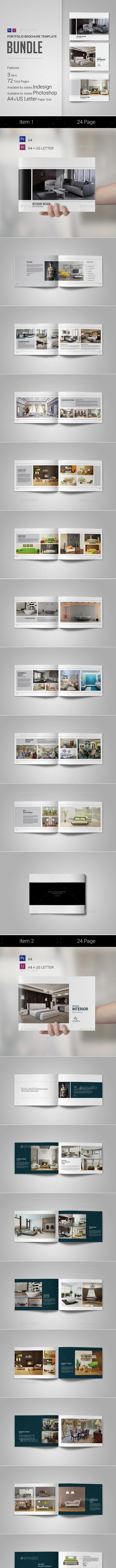 Interior Brochure Bundle - Portfolio Brochures