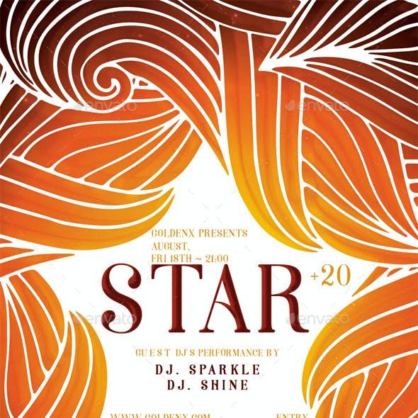 Star Flyer Template