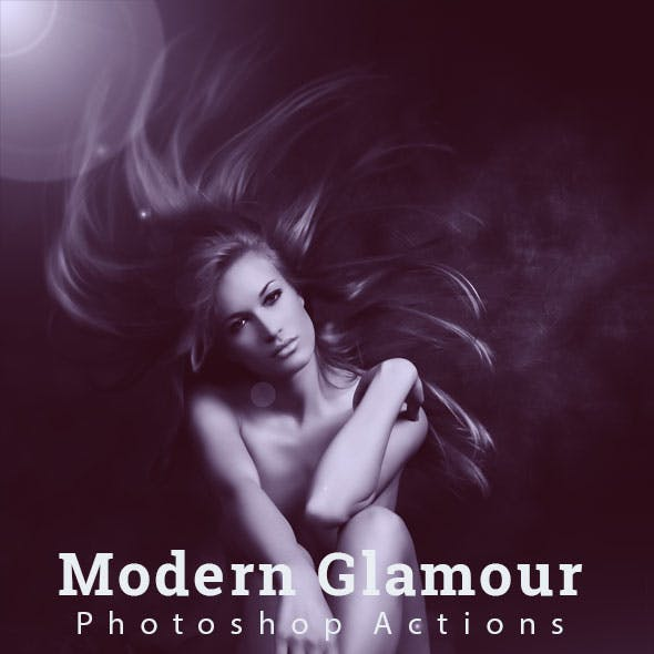 Modern Glamour Effect Actions
