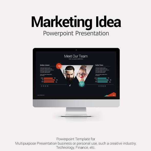 Marketing Idea PowerPoint Template