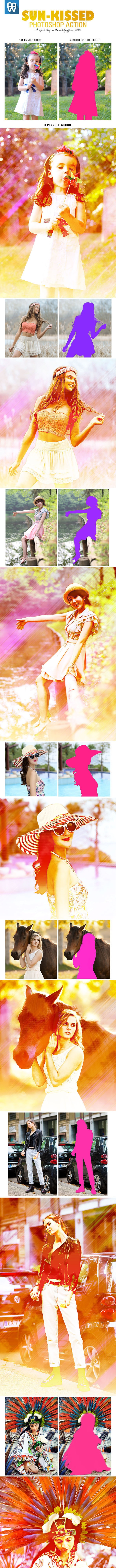 Sun-Kissed Photo Effect - Photo Effects Actions