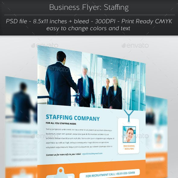 Business Flyer: Staffing