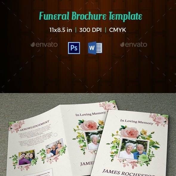 Funeral Program Template-V65