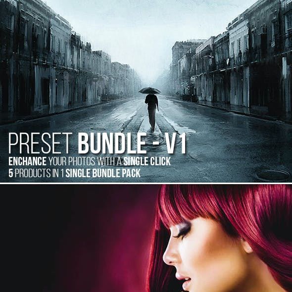 5 in 1 Lightroom Preset Bundle