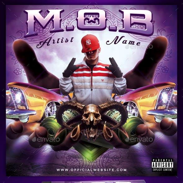M.O.B Mixtape / CD Cover Template
