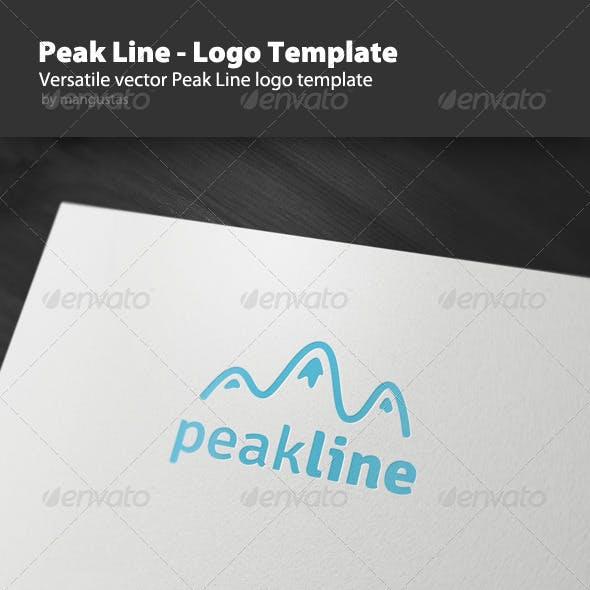 Peak Line - Logo Template
