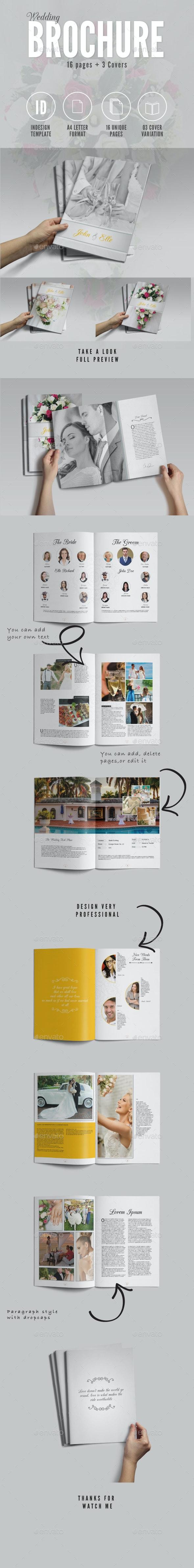 Wedding Brochure  - Brochures Print Templates