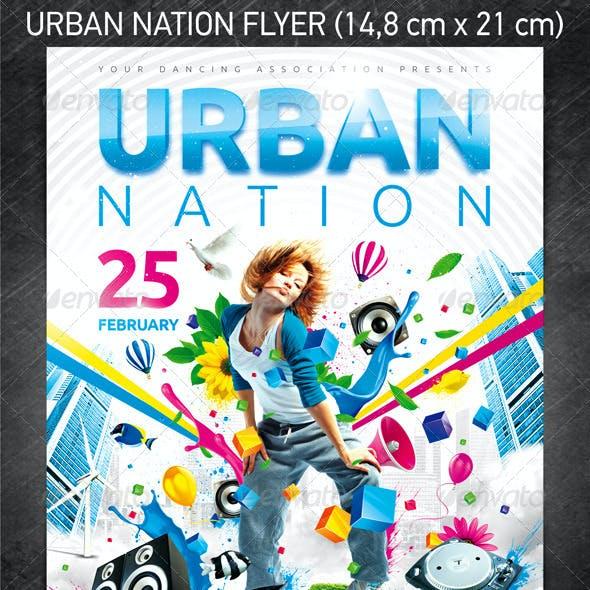 Urban Nation Flyer