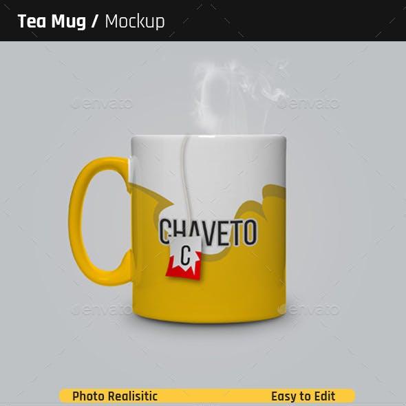 Tea Mug Mock-Ups