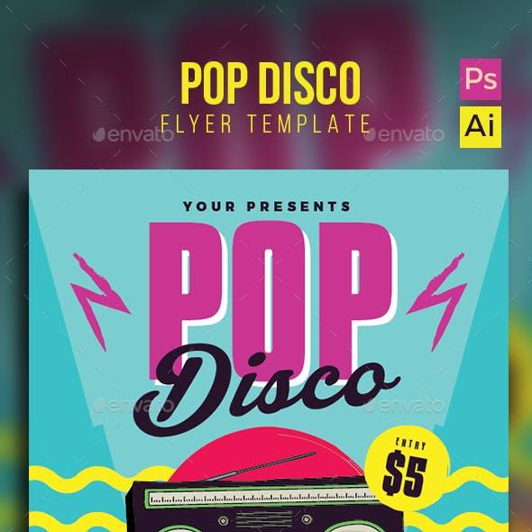 Pop Disco Flyer/Poster