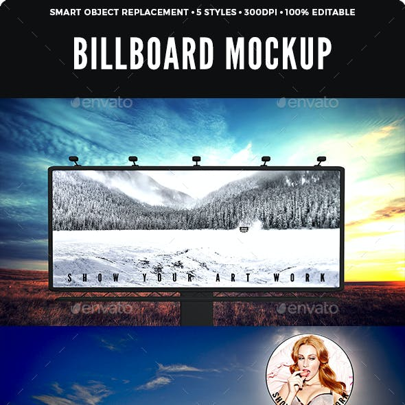 Billboard Mockup Design