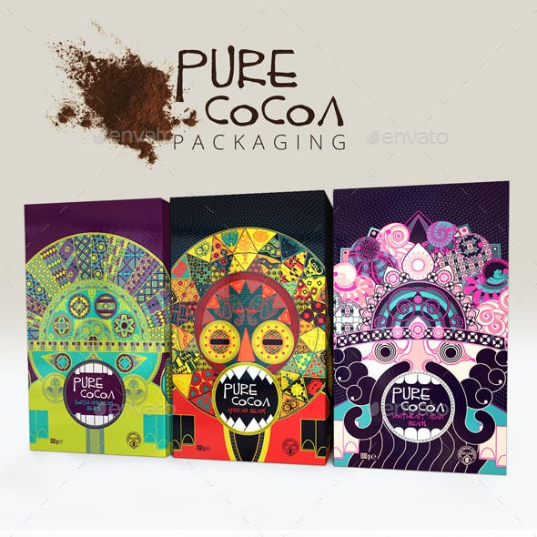 Pure Cocoa Packaging