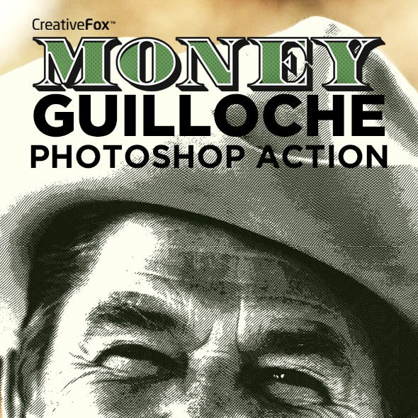 Money Guilloche Photoshop Action - Guilloche Effect Creator CS3+