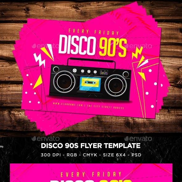 Disco 90s Flyer V9