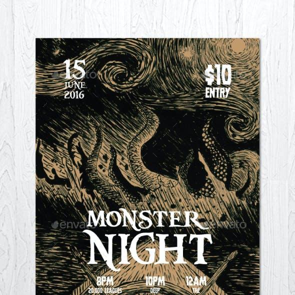 Monster Night Flyer