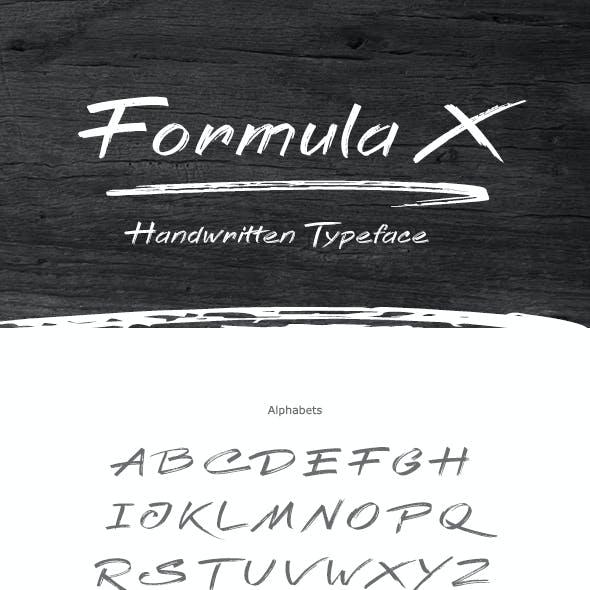 Formula X Font
