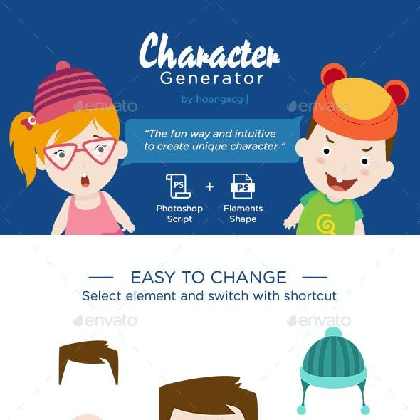 Character Creator Kit Graphics, Designs & Templates