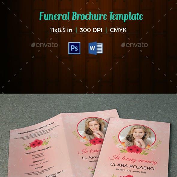 Funeral Program Template-V66