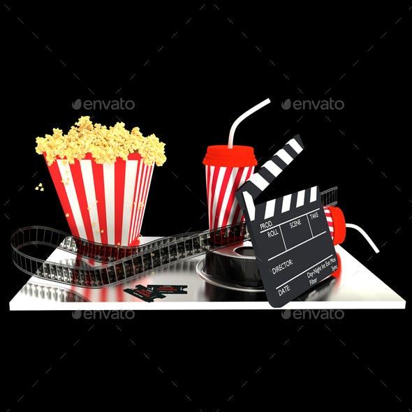 3D Movie Set
