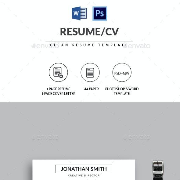 The Resume/CV