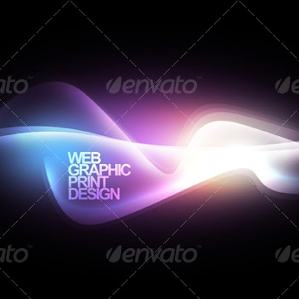Abstract design background for website