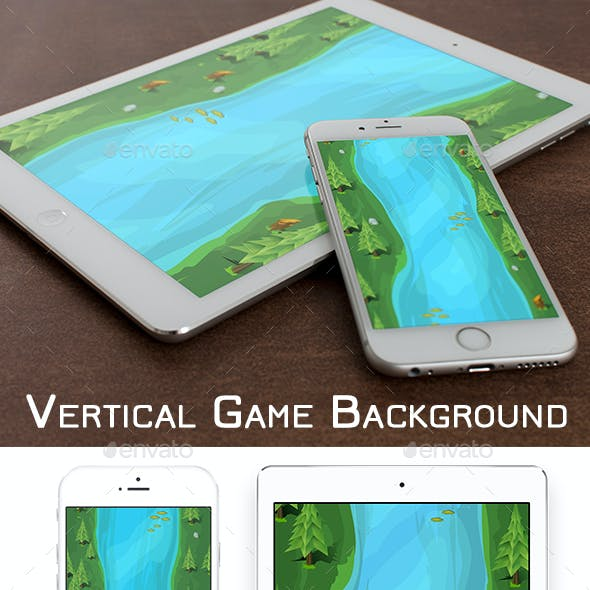 Vertical Game Background