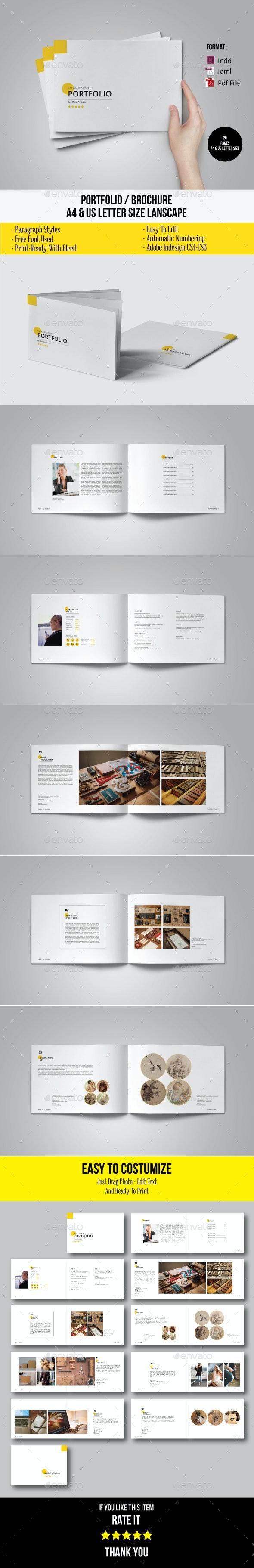 Minimal Brochure / Portfolio / Catalogue - Portfolio Brochures