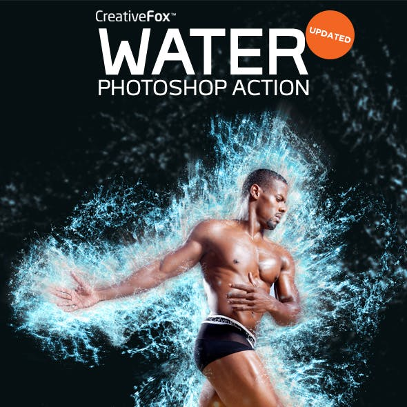 Water Photoshop Action - Water Splash Effect Creator CS3+