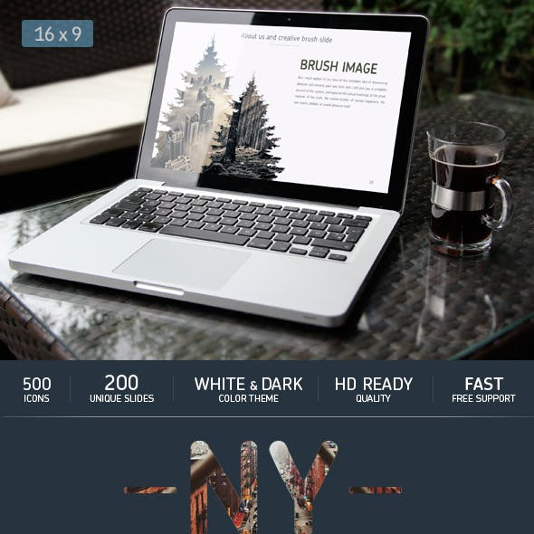 NY Powerpoint template