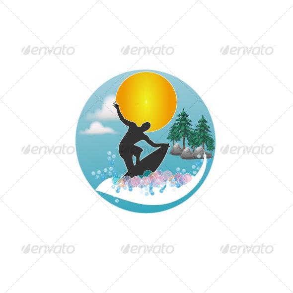 sea,sun,surf - Travel Conceptual